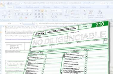 Declaraciones de renta 2012 podrán presentarse válidamente desde el 1° de marzo de 2013