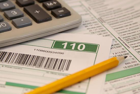 ¿Cuáles defectos está presentando el formulario 110?