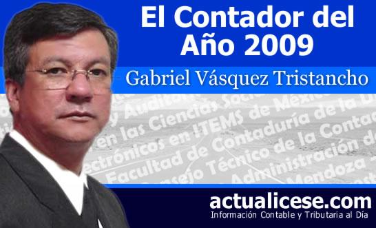 Entrevista al Contador del Año 2009 – Doctor Gabriel Vásquez Tristancho
