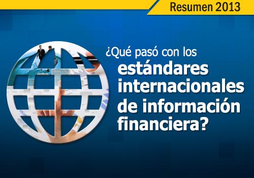 Las noticias de estándares internacionales más importantes del 2013