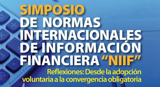 Simposio de Normas Internacionales de Información Financiera – NIIF en Cali