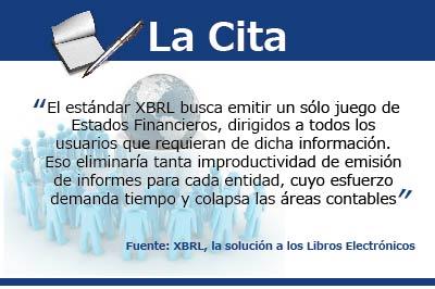 [La Cita] Los beneficios del XBRL