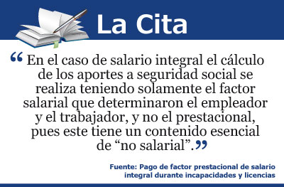 [La Cita] Sobre el salario integral