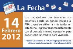 Cesantías en el FNA. Ventajas para los que se afilien o trasladen antes del 14 de febrero de 2012