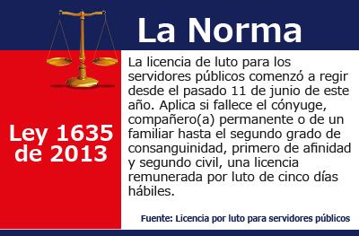 [La Norma] Licencia de luto para servidores públicos