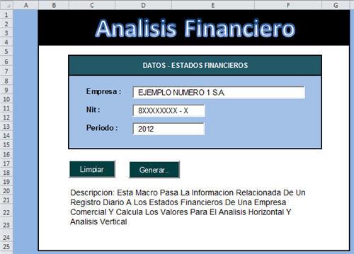 [Liquidador] Modelo Análisis Financiero – Guillermo Herrera