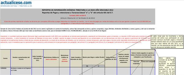 """[Liquidador] Reportes de Pagos y retenciones a Terceros. Literal """"e"""" y """"b"""" del art. 631 del E.T. – Caso 1"""