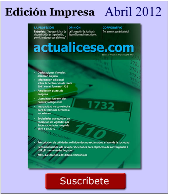 Revista  actualicese.com de Abril 2012