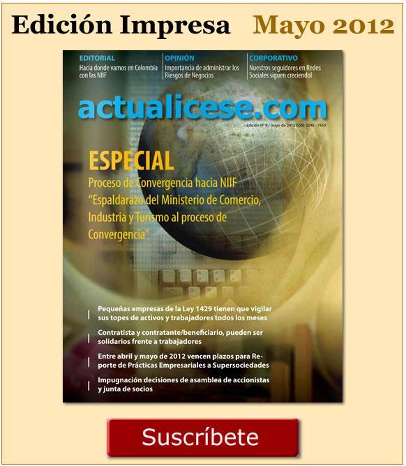 Revista actualicese.com de Mayo 2012